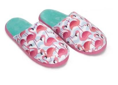 Chinelo Ricsen Flamingo Pelúcia Inverno 360227 | Calcebel