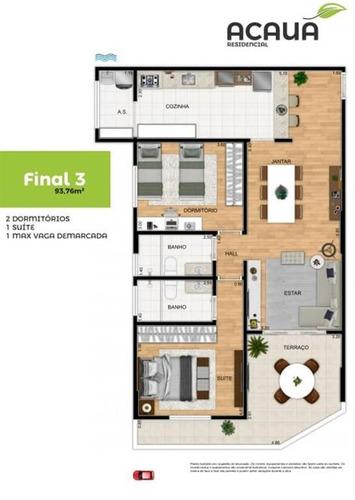 Imagem 1 de 9 de Apartamento - Venda - Campo Da Aviação - Praia Grande - Ter66