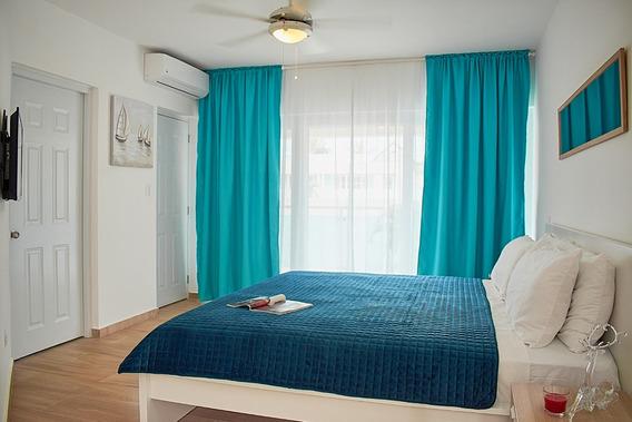 Apartamento Para Vivir Y Hacer Negocios! Centro De Cabarete!
