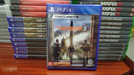 Tom Clancys The Division 2 Ps4 Mídia Física Português Novo