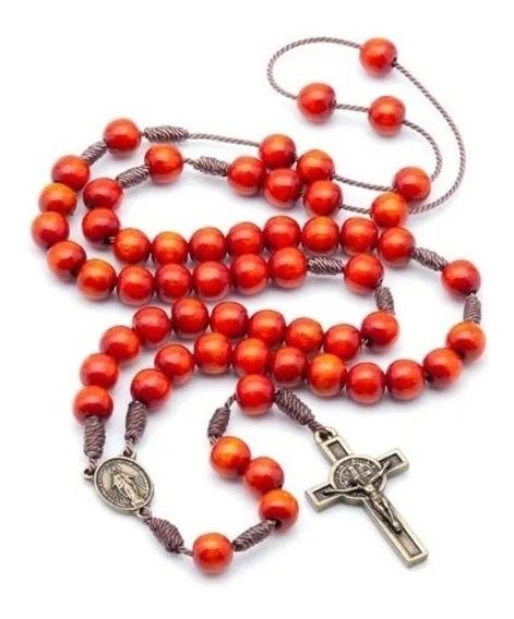 Kit 6 Terços Acampamento De Oração No Cordão Laranja 988