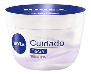 Crema Nivea Facial Piel Seca Sensitive 100ml
