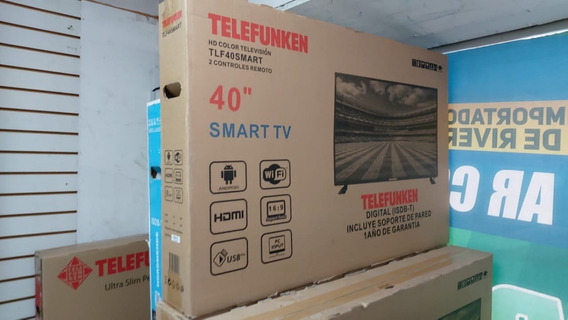 Smart Tv 40 Polegadas Telefunken Na Caixa Lacrada