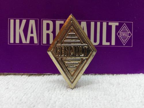 Insignia Emblema Parrilla Gordini Y Renault 4 Metal Original