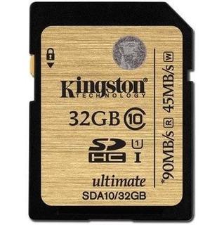 Kingston 32gb Sdhc Card (class 10)