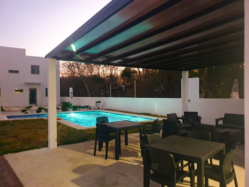 Hermosa Casa Amueblada Con Jacuzzi Privado, En El Cielo Playa Del Carmen P3182