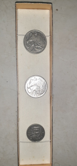 Monedas Australianas 20 Cent. Y 10 Cent.