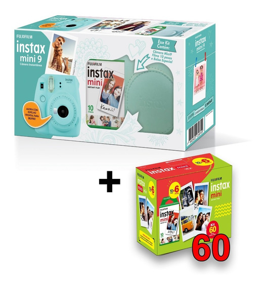 Instax Mini 9 Kit + Entrega Super Rápida