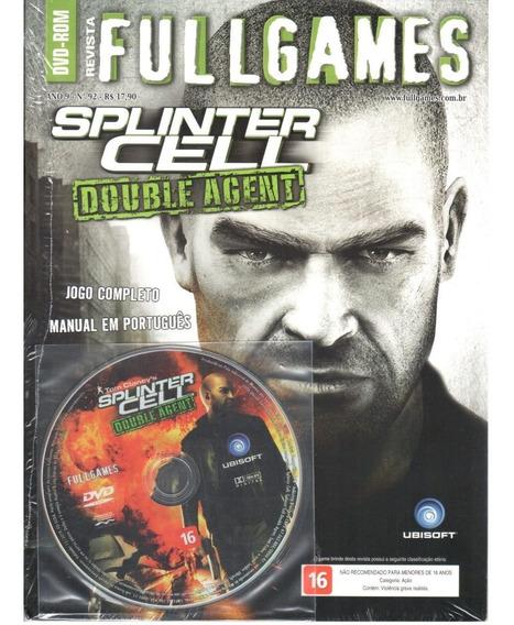 Splinter Cell Double Agent Pc Original Mídia Fullgames 92