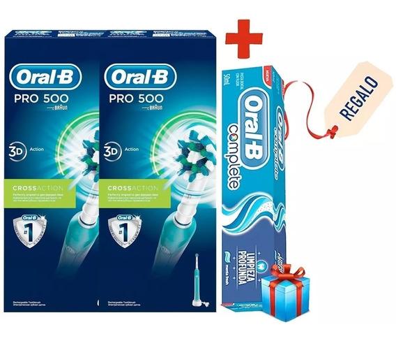 Pack 2 Cepillo De Dientes Eléctrico Oral-b 500 Professional