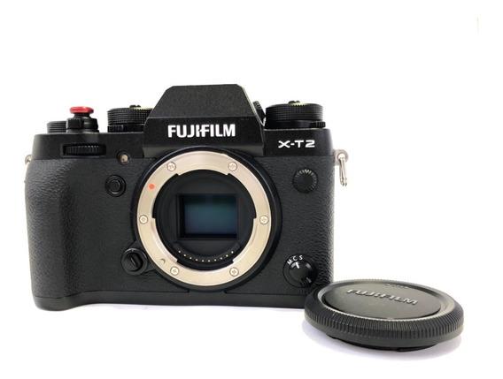 Câmera Fujifilm X-t2 (pouco Tempo De Uso)