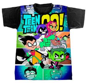 8a5be5549a Camiseta Jovens Titans - Camisetas Manga Curta no Mercado Livre Brasil