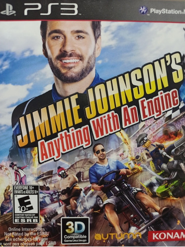 Jimmie Johnson's Anything With An Engine Ps3 Mídia Física