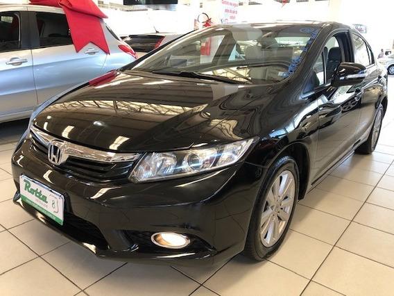 Honda Civic 1.8 Lxl 16v Flex 4p Automático 2012 - Impecáv