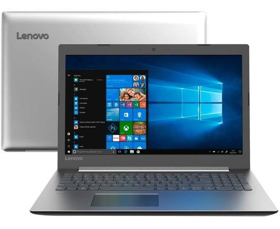 Notebook Lenovo 330, I3-7020u 4gb, 1tb, W10,15,6, Hd-prata