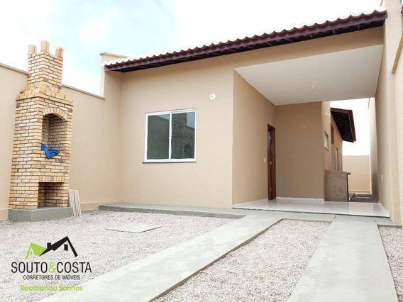 Casa Com 2 Dormitórios À Venda, 82 M² Por R$ 135.000 - Pedras - Fortaleza/ce - Ca0403