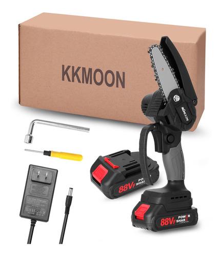 Kkmoon Poda Eléctrica Motosierra + 2-batería 88vf 4in