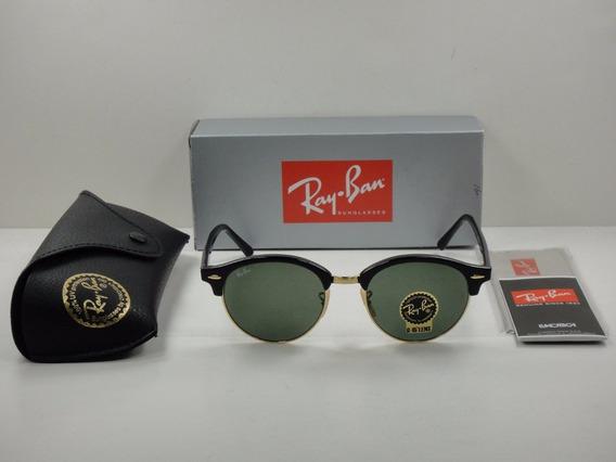 Óculos De Sol Ray Ban Clubround Rb4246 Unissex