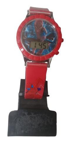 Relógio Digital Infantil Homem Aranha Minuto Lindo Luxo