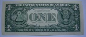 5 Cinco Cédulas Notas De 1 Dólar Americano Nova Original