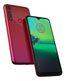 Celular Smatphone Motog 8 Play 32gb Margenta Verm (nordeste)