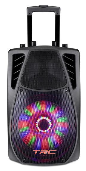 Caixa Amplificada Trc359 Bluetooth 360w Usb Bateria Microfon