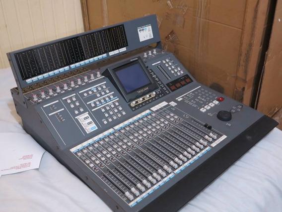 Mesa Digital Tascam Tm-d4000 32canais + Meter-ac,trocas