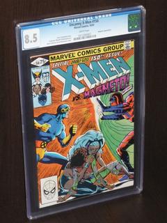 Comic Cgc X-men Vs. Magneto - Uncanny X- Men # 150