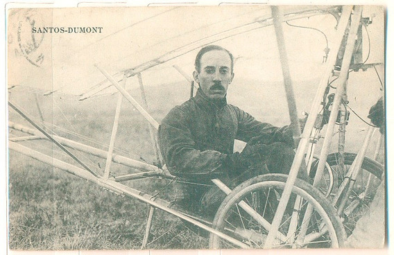 França 1909 Santos-dumont Circulado 1909