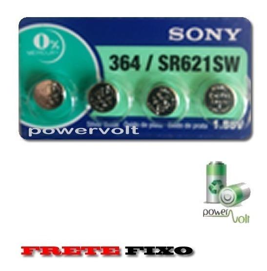 Bateria Sony 364 Sr621sw 1.55v   Cart C/04 Pilha