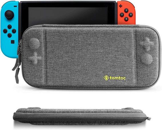 Funda Nintendo Switch Viaje Rigida Tomtoc Original Case