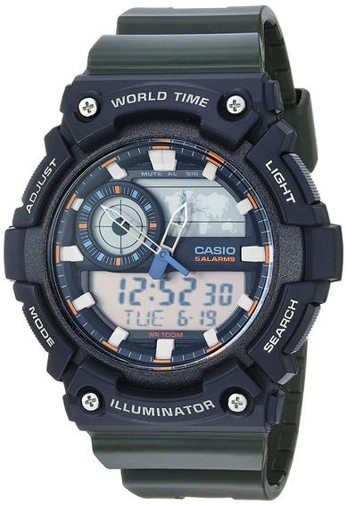 Relógio Casio Super Illuminator Aeq-200w-3avcf