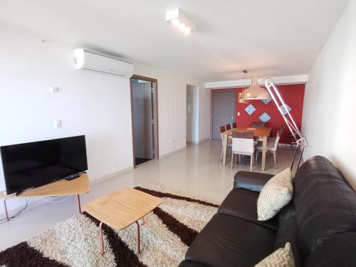 Apto ,vista Al Mar, 3 Dormitorios, Parrillero, Amenities, Playa Brava