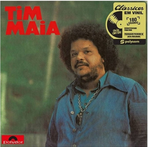Lp Tim Maia 1973 Lacrado Novo Vinil 180g Produto Oficial
