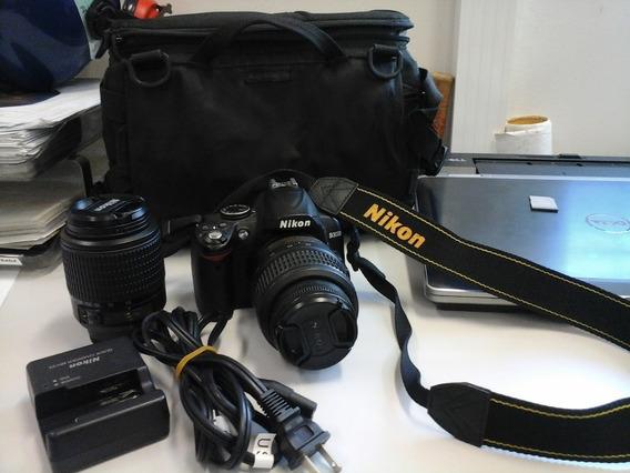 Câmera Fotográfica Profissional Nikon D 3000