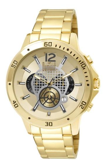 Relógio Masculino Dumont Dujp25caj/4d