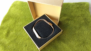 Pulseira Para Mi Band 2 Xiaomi - Dourada Aço - Luxo