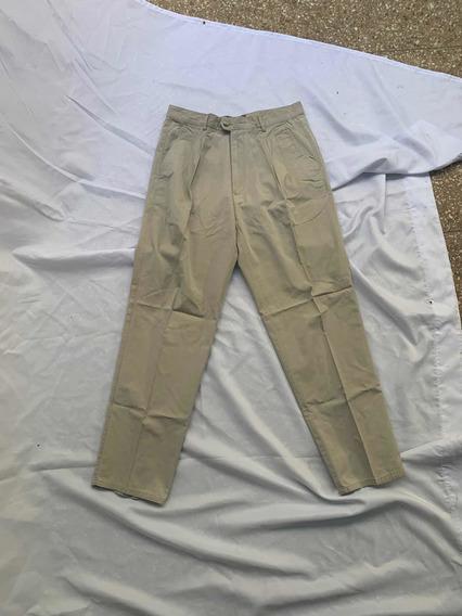 Pantalón De Vestir - Hombre - Beige