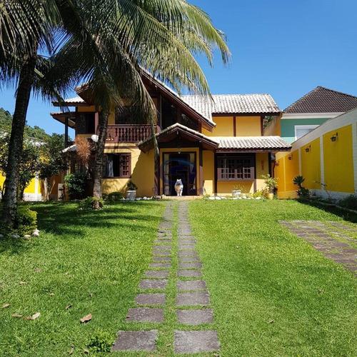 Imagem 1 de 30 de Casa 4 Quartos A Venda No Condomínio Bosque Dos Esquiulos No Anil Em Jacarepaguá - J-62198 - 69304613