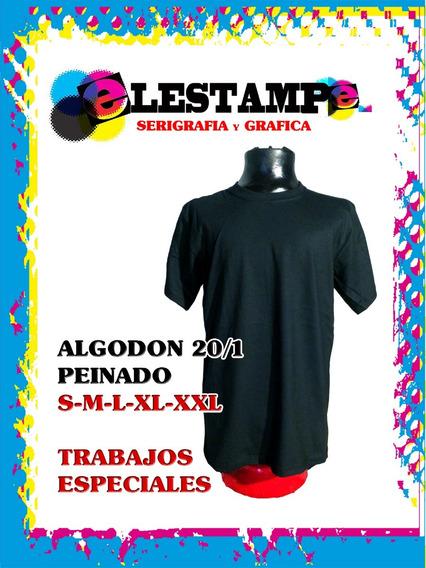 Remeras Algodon 20.1 Elestampe