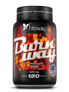Burnway Fitoway Cafeína 420mg - 120 Caps