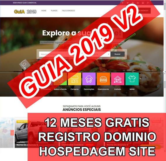 Site Guia Comercial 2020 + 1 Ano Hospedagem E Dominio