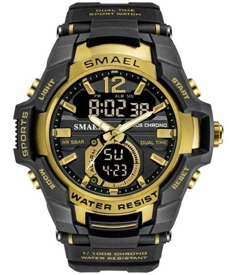 Relógio Masculino Esportivo Smael 1805 Prova D