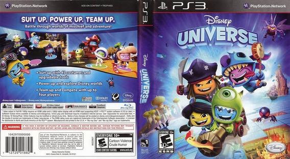 Disney Universe - Jogo Para Playstation 3 - Mídia Física