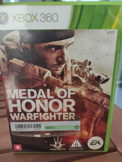 Jogo Xbox 360 Medal Of Honor Warfighter Original