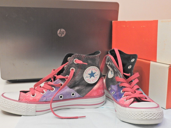 Zapatillas Converse All Star Hi Kids Multipanel