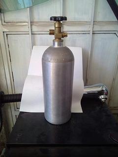 Tanque 3.5kgs Co2 Cilindro Luxfer Presurizado Seminuevo Alum