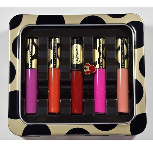 Disney Minnie - Kit Batom - Cream Lip Stain Set