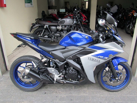 Yamaha Yzf R3 2016 Azul
