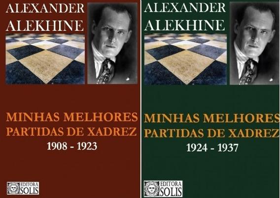 Combo Alekhine - Os Dois Livros Com 15% De Desconto